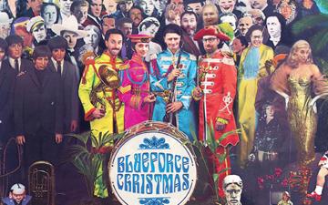 Blueforce celebrate a very retro Christmas